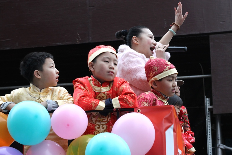 NYC Chinese New Year Parade | thenotepasser.com