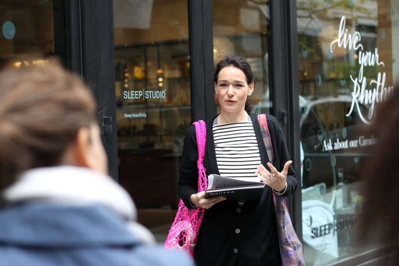 Carmen Artigas of Ethical Fashion Academy | NYC Sustainable Design Tour | thenotepasser.com