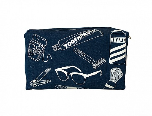 Maptote Denim Dopp Kit