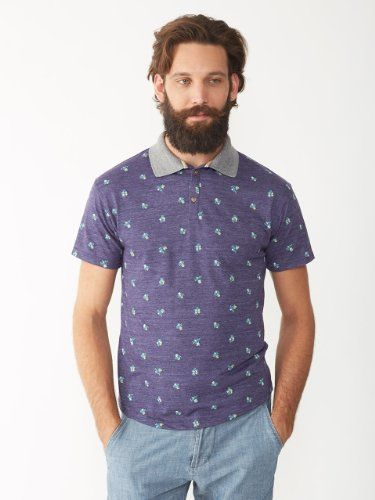 Alternative Apparel Alvarado Eco Polo Shirt