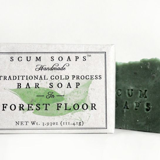 Soap Scums' FOREST FLOOR SOAP