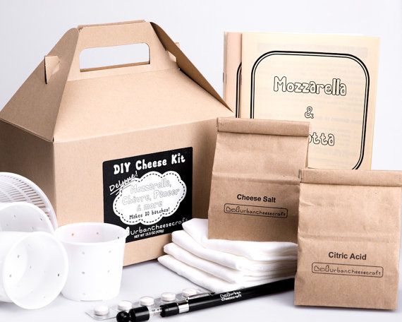 Urban Cheesecraft Deluxe DIY Cheese Kit
