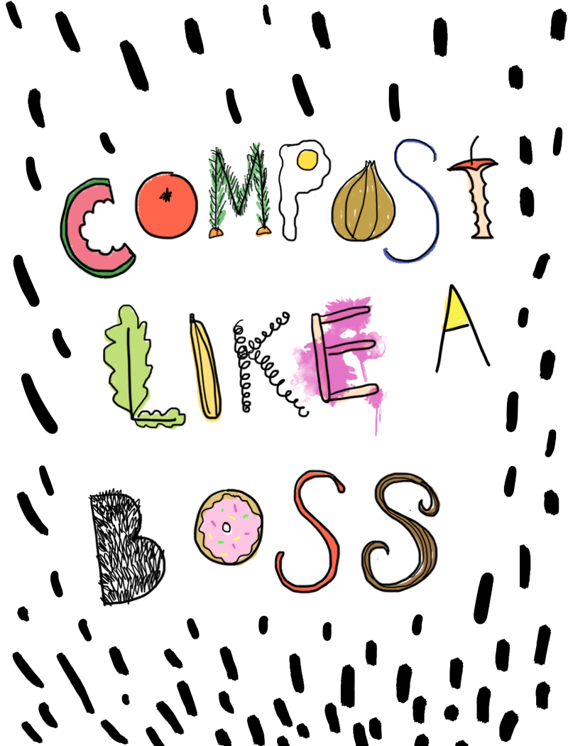 How To Compost Like a Boss | thenotepasser.com
