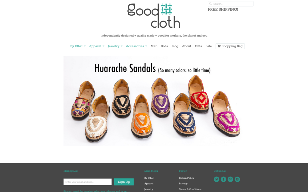 MEET STEPHANIE HEPBURN, FOUNDER OF GOOD CLOTH | thenotepasser.com