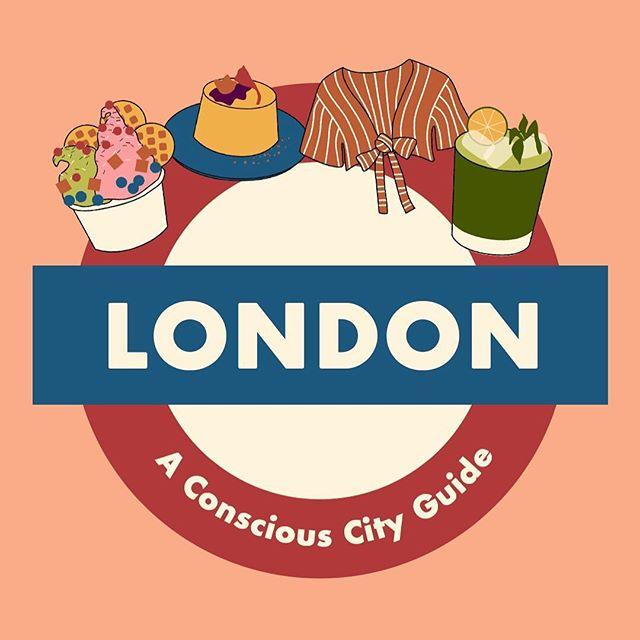 Another conscious city guide up on @selvabeat now. This time, a local shows us the eco side of London! Illustrations by me.