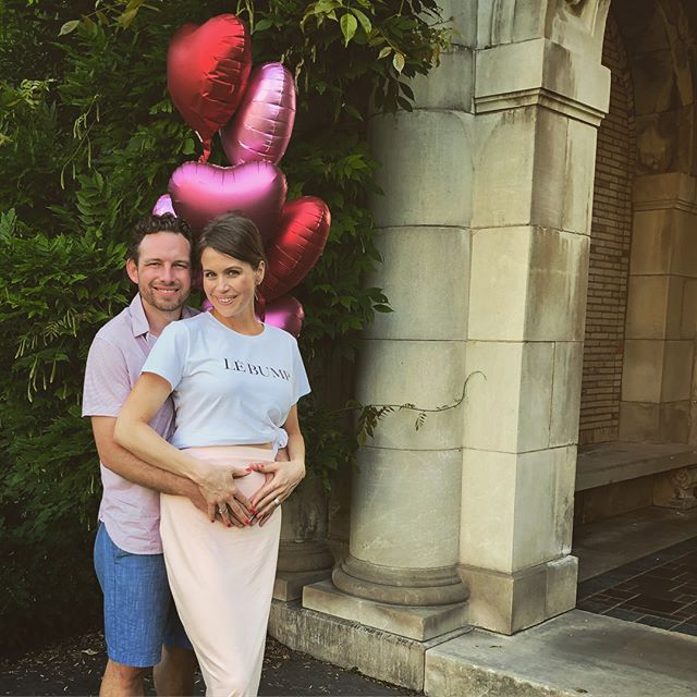 This Father's Day we have exciting news to share...baby girl arriving early December 🎀 #ohbaby