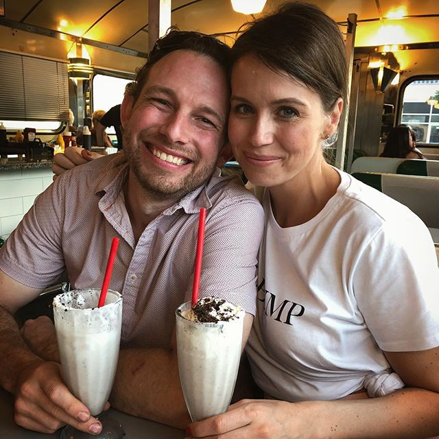 finished off Father's Day yesterday with cookie dough Oreo shakes #fathersday2018 #sundayfunday