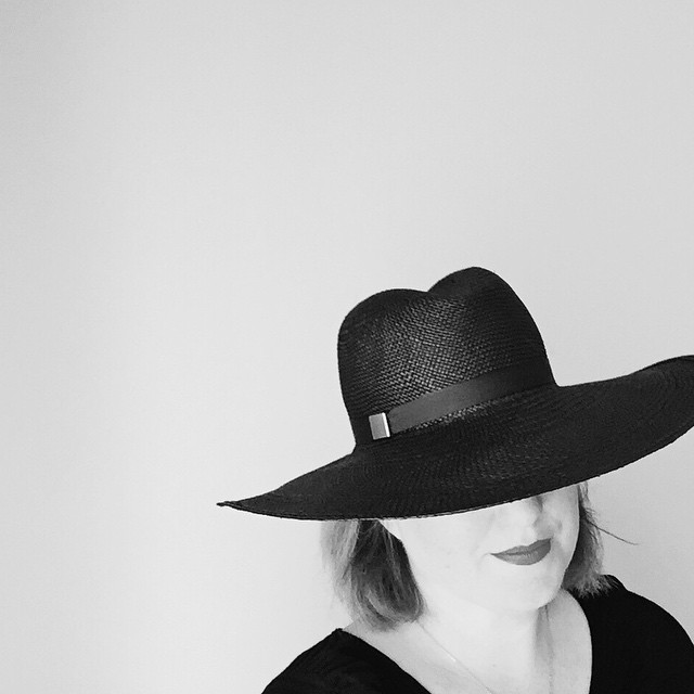 Black is always the new black.  #Black #panamahat by (me) @unahats    I'll have this one with me @artistsandfleas this Saturday. #madeinla #dtla #wiwt #streetstyle #hatabouttown #unahats