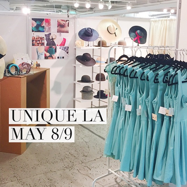 Come hang with us this weekend   @shopapricity & @unahats   Full details @uniqueusa | #uniquela #uniqueusa #madeinla #dtla #fashion #prettydresses #hats