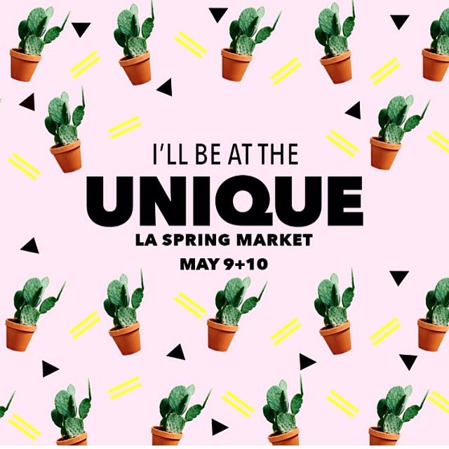 Save the date: May 9 & 10  Location: #California Market Center/ Penthouse  Hosted by @uniqueusa $10 at the door (good for both days)    Music, Free drinks, photobooth & DIY craft stations. Plus I'll be there along with over 300+ cool unique designers, makers and local food vendors. #fun    ______________________________________  #madeinLa #losangeles #dtla #uniqueusa #uniquela #unahats #hats #headpieces #turbans #springtime #handmade #millinery #bespoke #strawhat #shoplocal