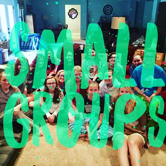 Don't miss out on small groups this year! Sign up today!! #linkinbio
