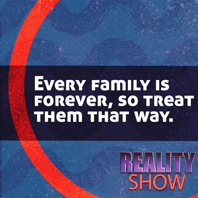 Don't forget what we talked about his weekend! What can you do at home that shows your family they matter to you?
