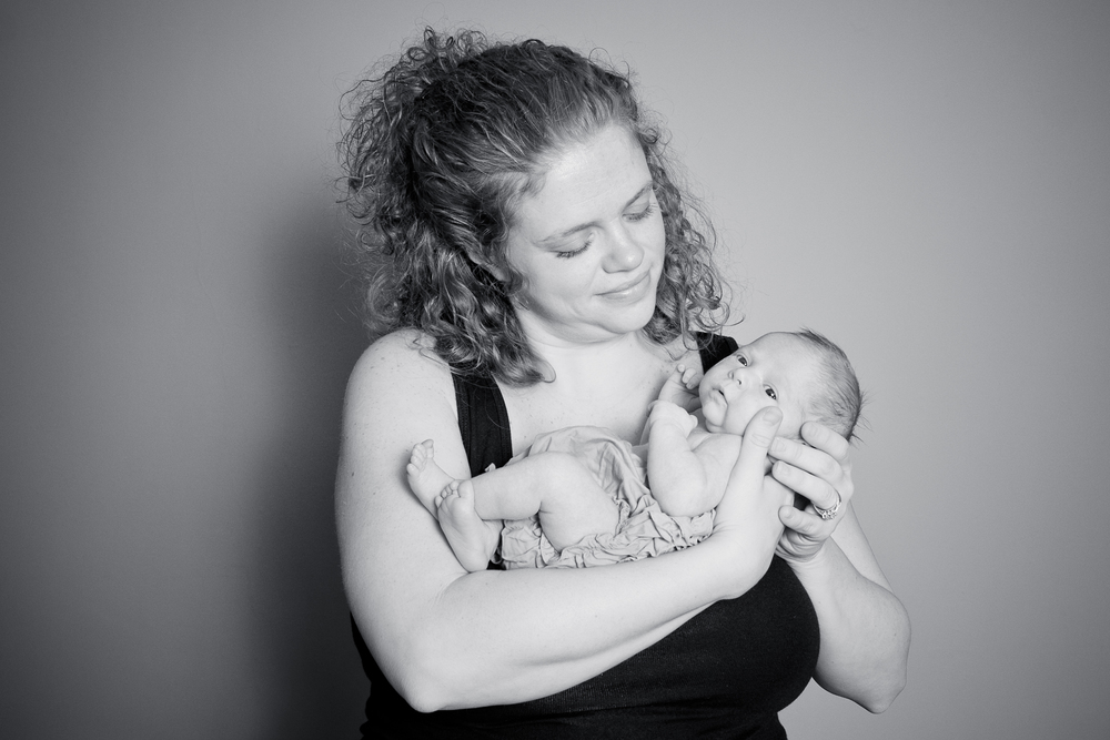 Greensboro newborn baby photographer