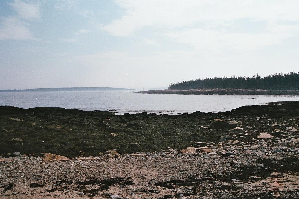 Acadia, Maine.  35mm film, 2011.