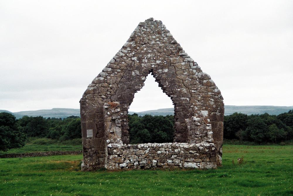The Burren, Ireland. 35mm film, 2012.