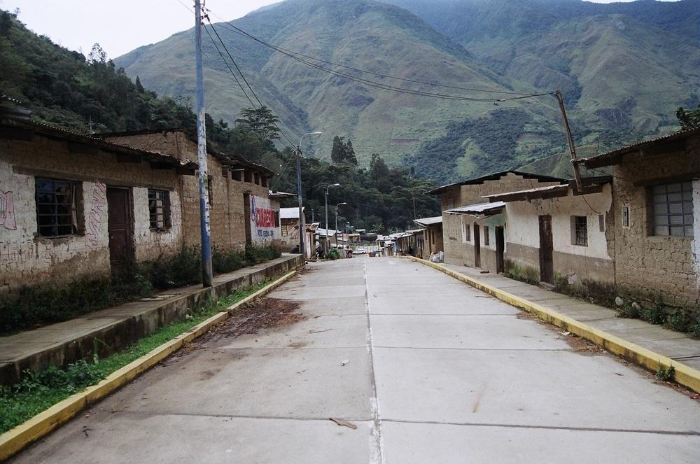 Santa Teresa, Peru. 35mm film, 2014.