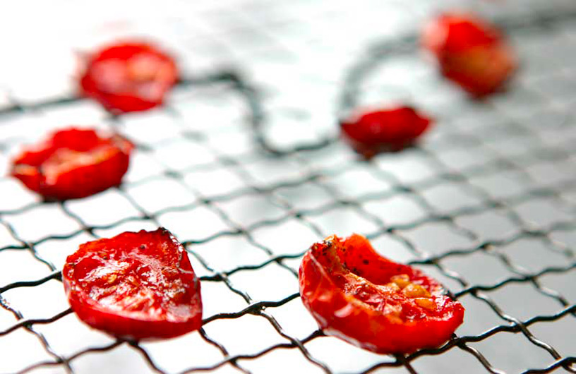 Roasted Tomatoes - Alistair Hugo Catering and Events