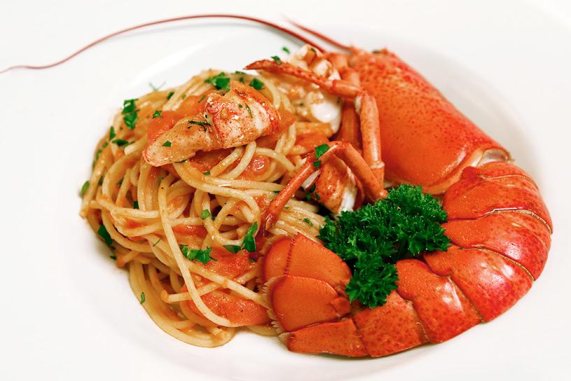 Food - Langoustine Linguine