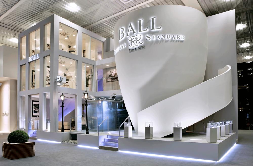 Ball Watches stand, Baselworld, Basel