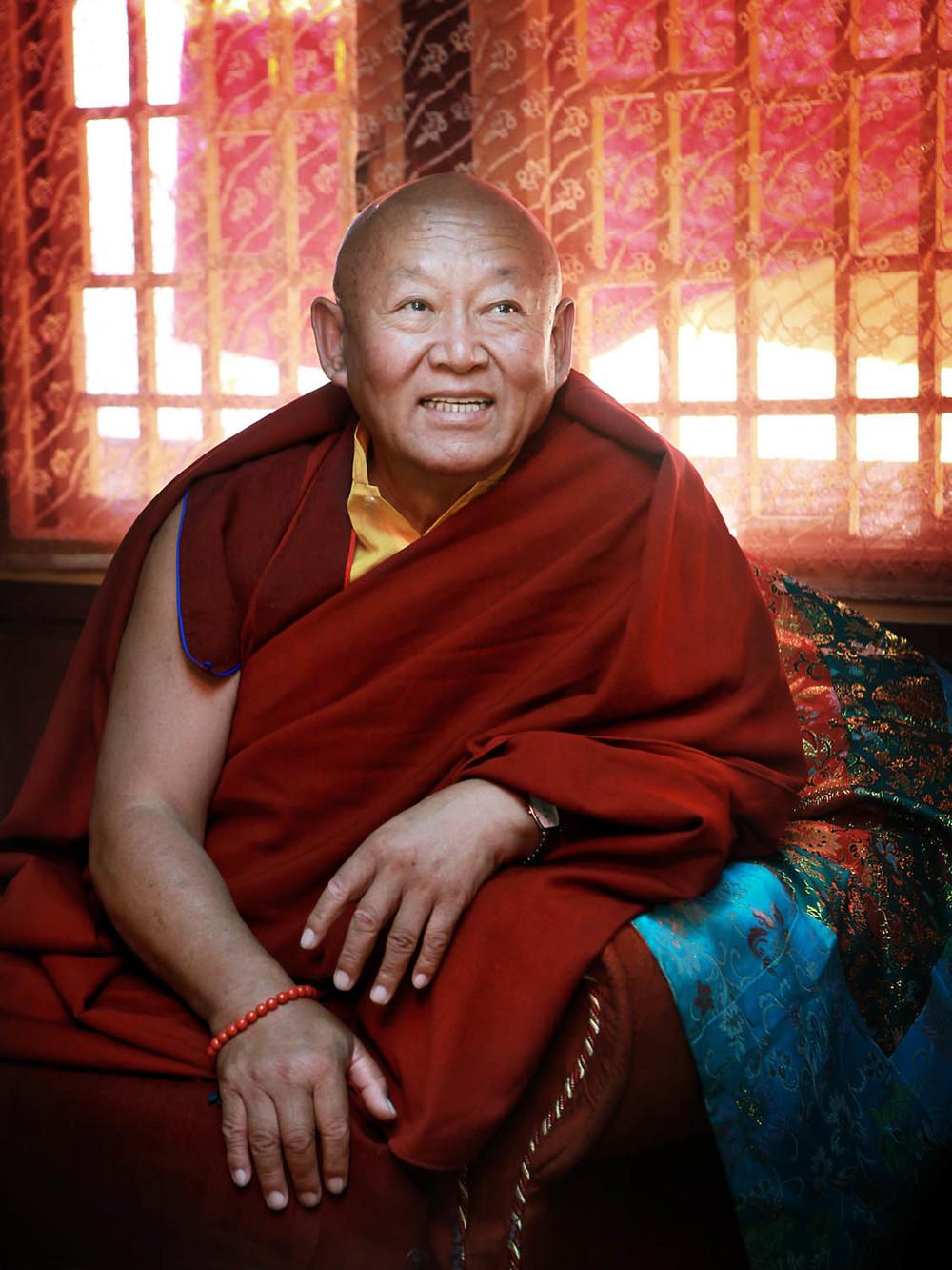 H.H Drikung Chetsang Rinpoche, Hemis Monastery