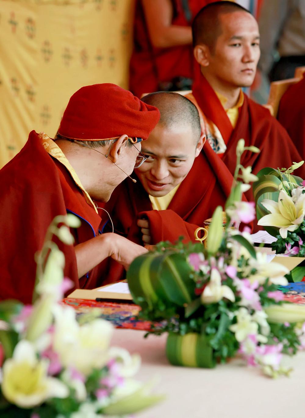 H.H. & Thuksey Rinpoche, Hemis Monastery