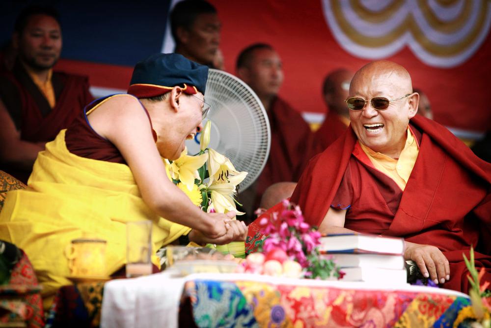 H.H the Gyalwang Drukpa & H.H Drikung Chetsang Rinpoche