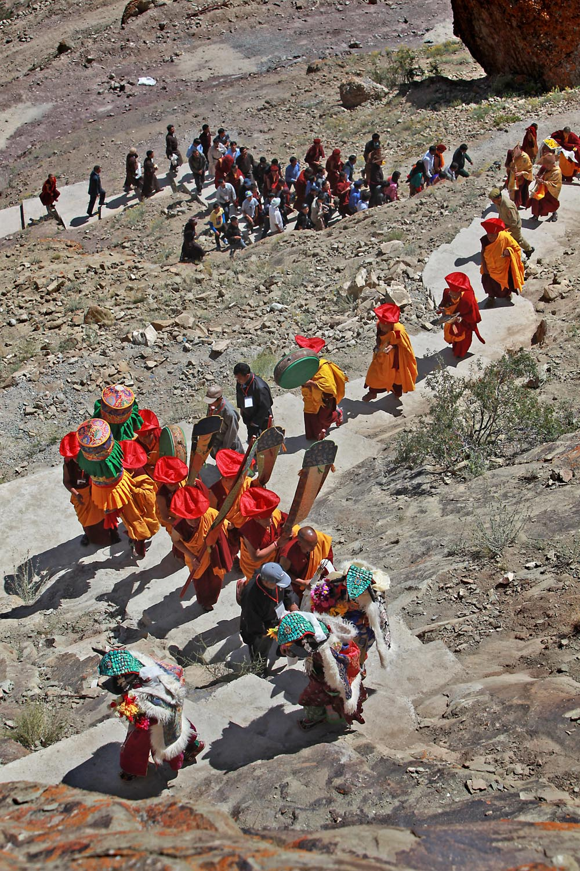 Procession, Hemis Monastery, Ladakh