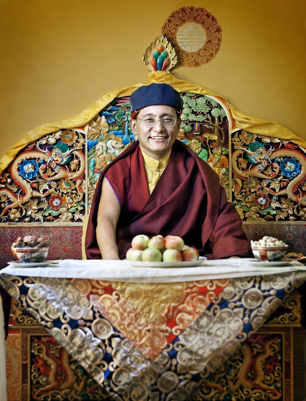 His Holiness the Gyalwang Drukpa, Hemis Monastery, Ladakh