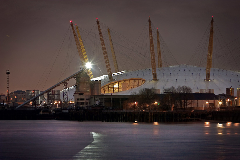 Millennium Dome/O2 Arena, London, UK