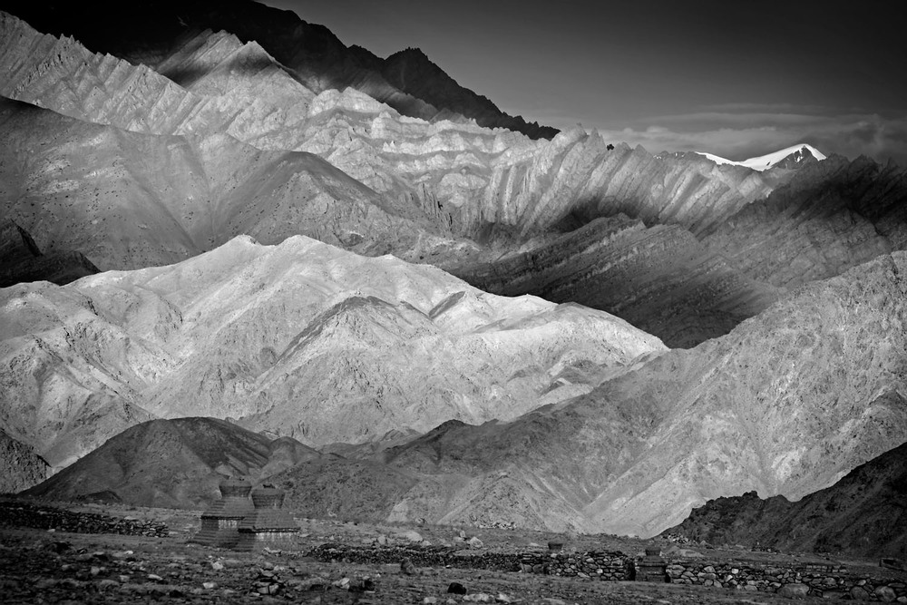 On the way to Chemdrey Gompa, Ladakh, India