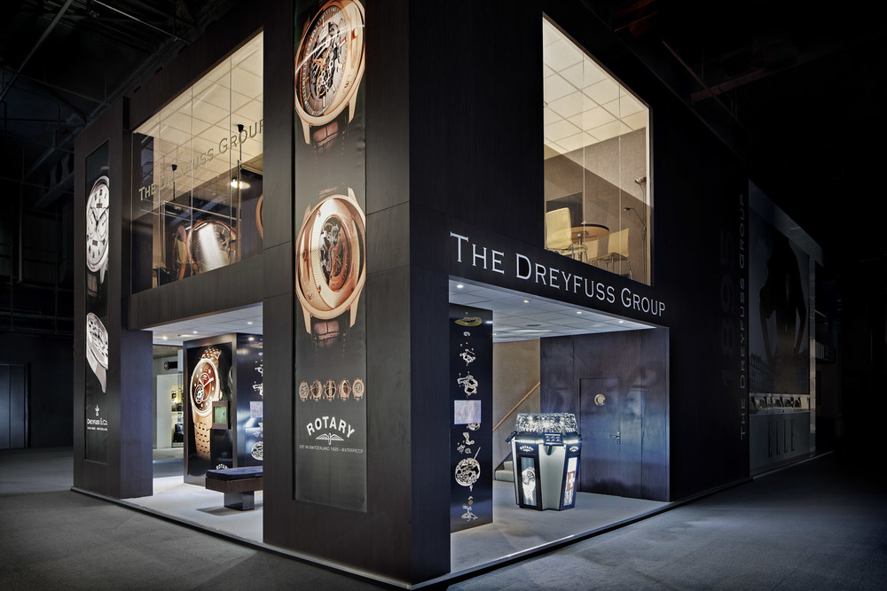 Dreyfuss Group stand, Baselworld, Basel