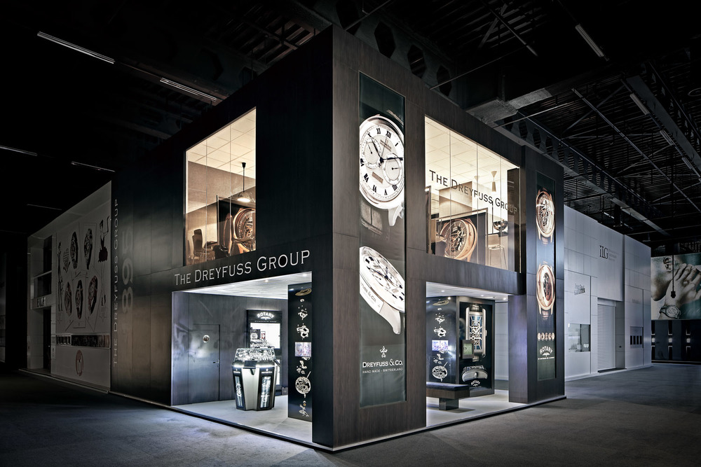 Dreyfuss Group stand, Baselworld, Basel