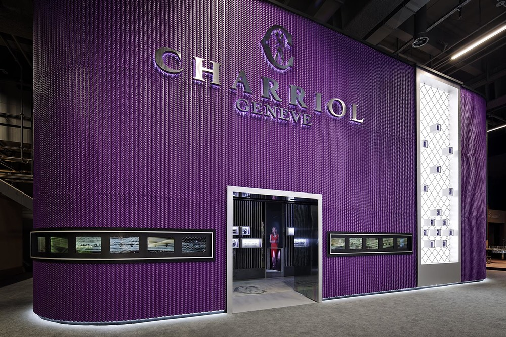 Charriol stand, Baselworld, Basel