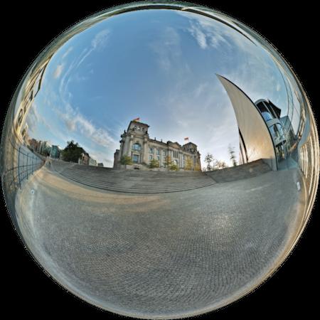 Reichstag & Spree - Berlin