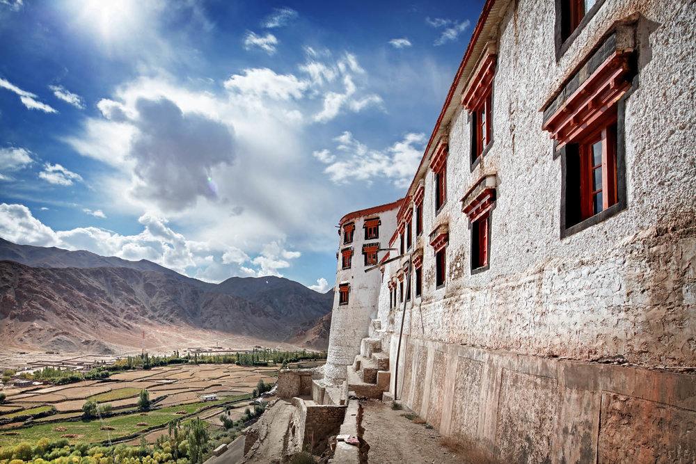 Chemdrey Monastery, Ladakh, India