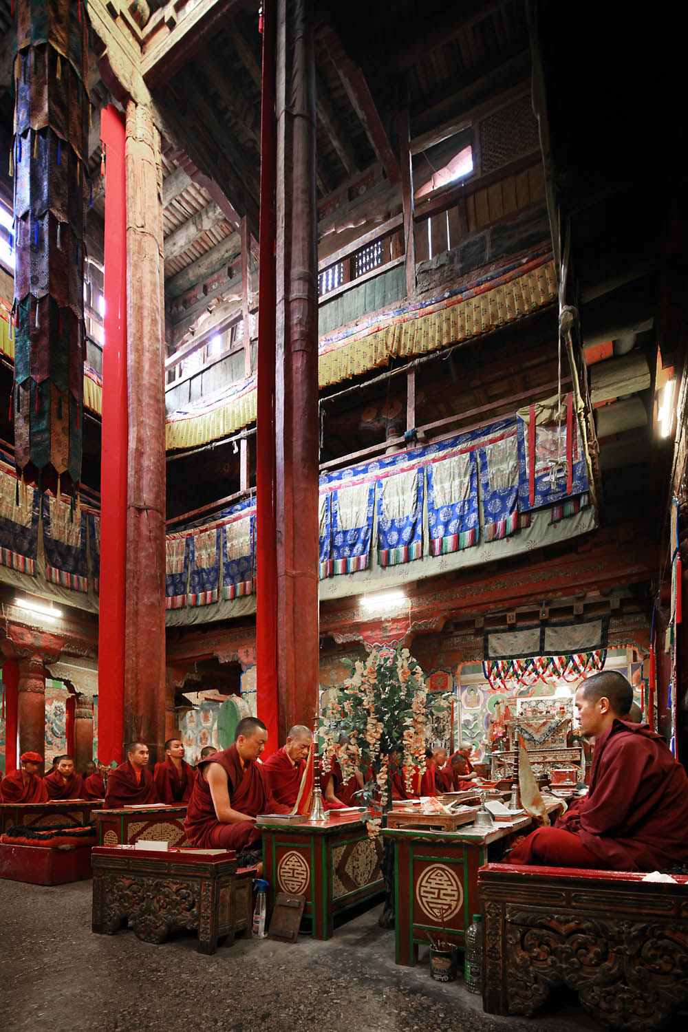Temple, Hemis Monastery, Ladakh, India