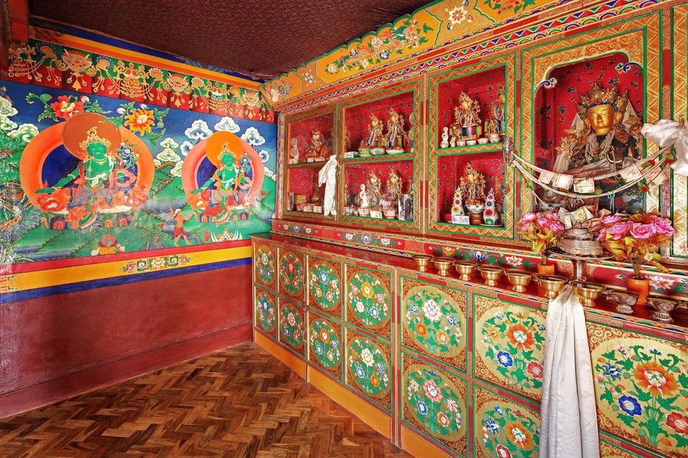 Tara Room, Stakna Monastery, Ladakh, India