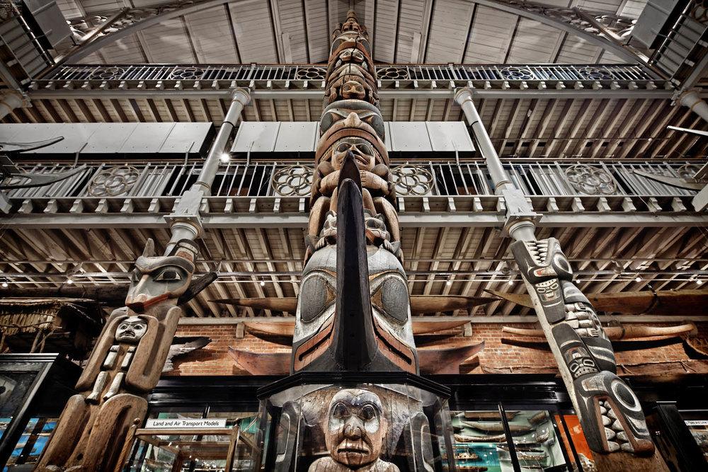 Pitt Rivers Museum, Oxford, UK