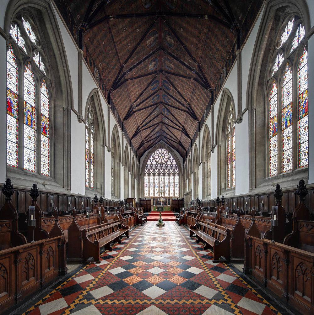 The Chapel, Merton College, Oxford, UK