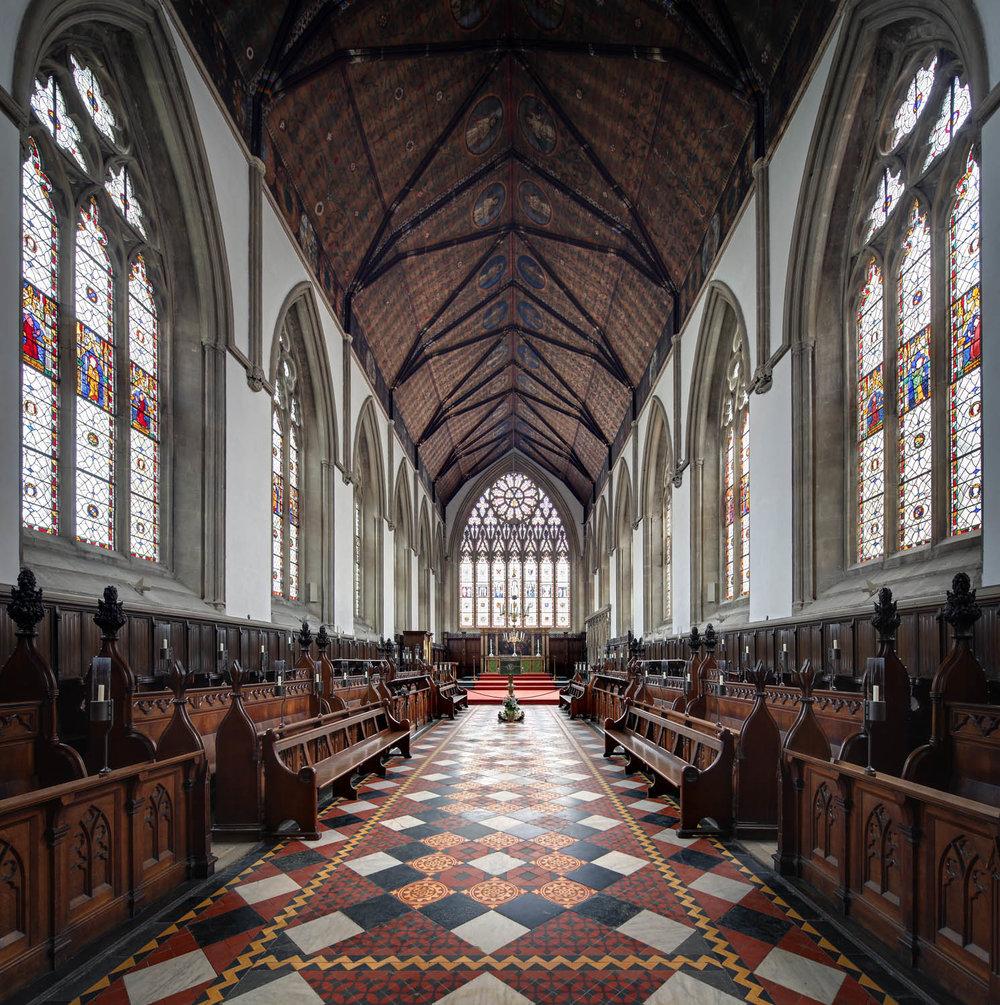 The Chapel, Merton College, Oxford, UK