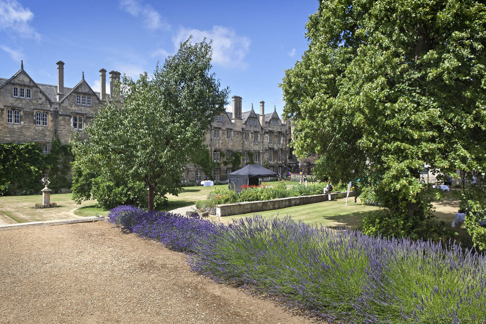 Fellows Garden & Sundial Lawn, Merton College, Oxford, UK