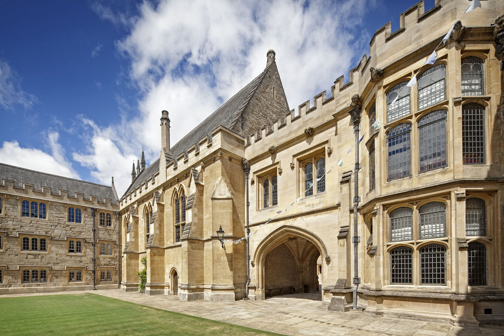 Front Quad, Merton College, Oxford, UK