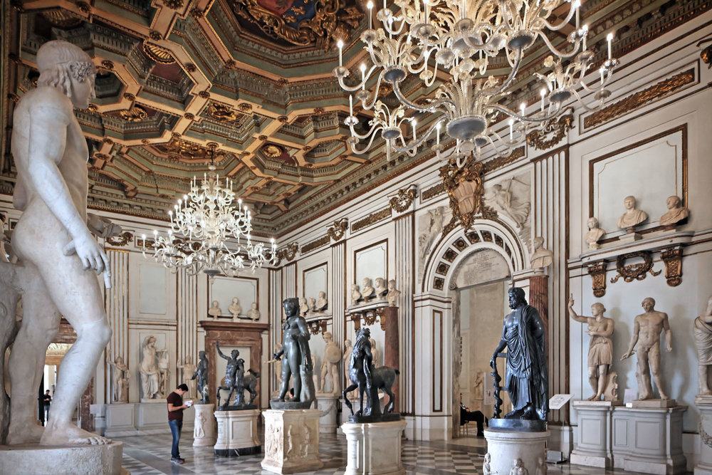 Great Hall, Palazzo Nuovo, Musei Capitolini, Rome