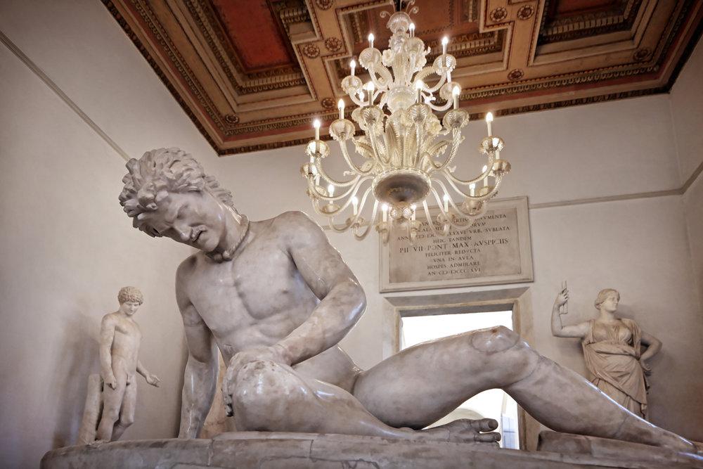 Capitoline Gaul, Musei Capitolini, Rome