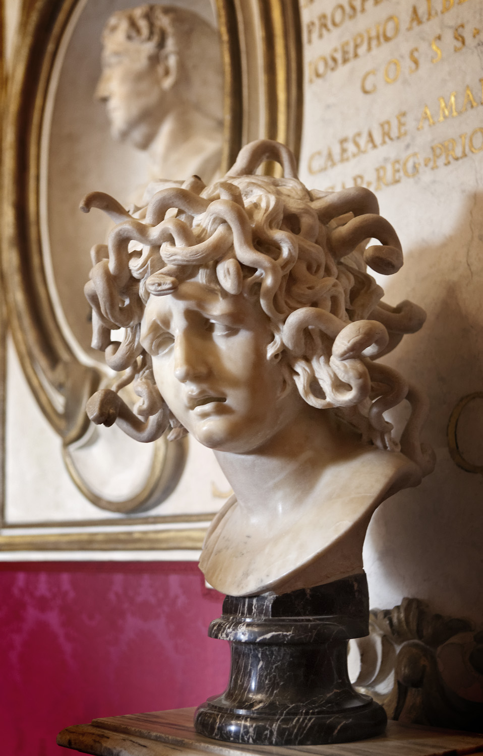 Bust of Medusa by Bernini, Musei Capitolini, Rome