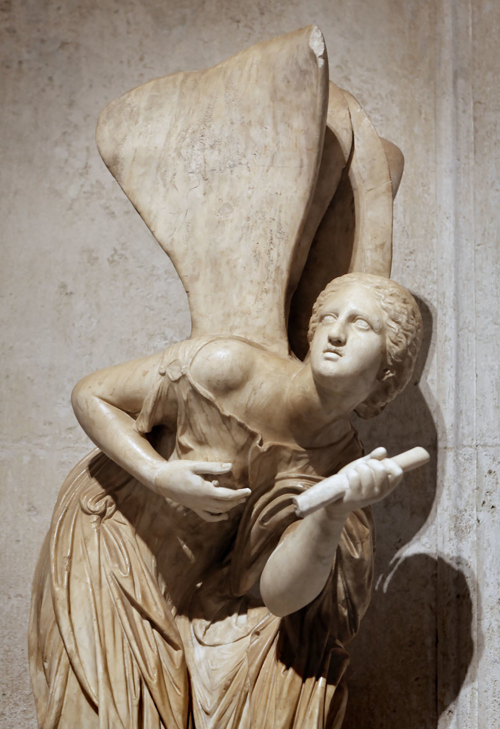 Winged Psyche, Musei Capitolini, Rome