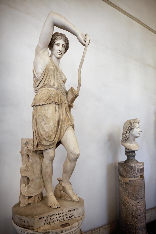 Wounded Amazon, Musei Capitolini, Rome