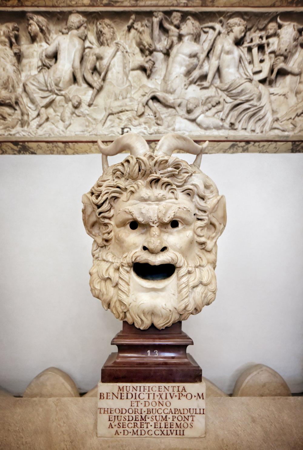 Satyr Mask, Musei Capitolini, Rome