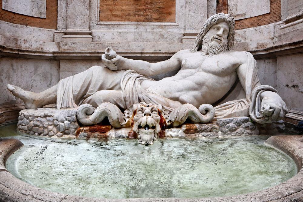"""Marforio"", Musei Capitolini, Rome"