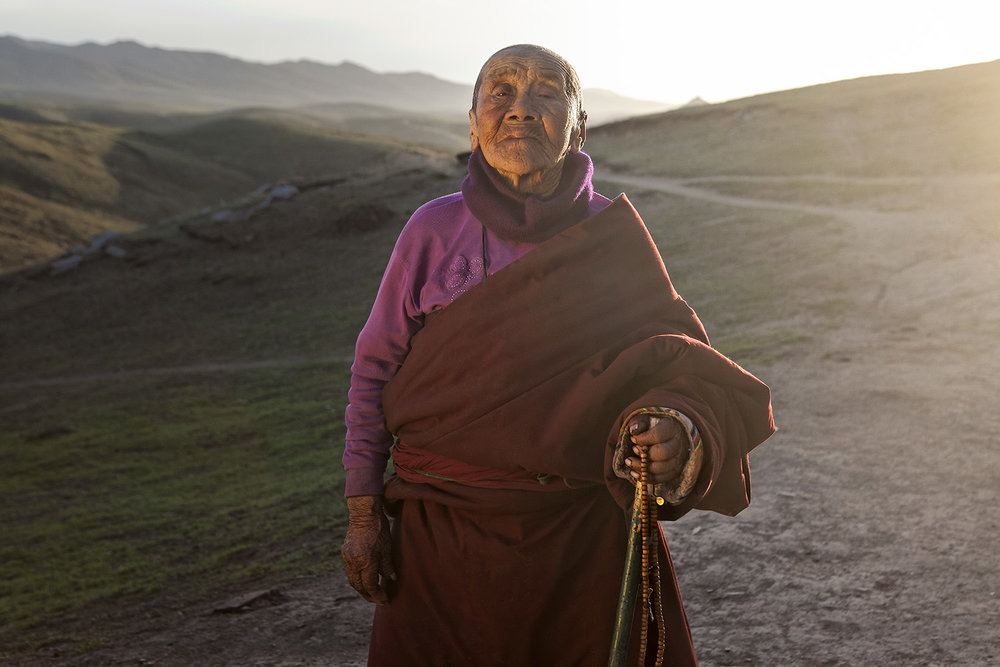 Nun - Ritoma, Amdo, Tibet - for Norlha Textiles